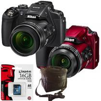 Nikon P610 16mp 60x Wifi Full Hd + Sd 16gb Clase 10 + Bolso!