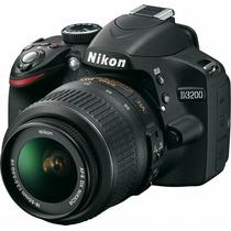 Nikon D3200 Kit 18.55 Vr 24mpx Full Hd Supera D3100! Gtia!!