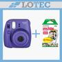 Instax Camara Fujifilm Fuji Instax Mini Con 20 Fotos Violeta