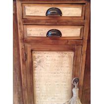 Mueble Botinero Antiguo Restaurado Y Patinado Divino