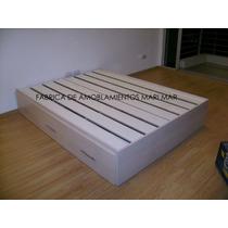 Cama Con Cajonera Box