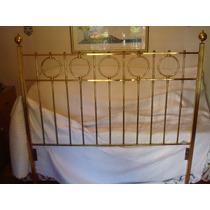 Cabecera De Bronce - Cama Matrimonial