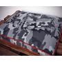 Almohadón Mascotas 80x60 Cm. Desmontable Y Con Vivo De Color