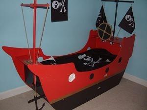 Camas barco infantiles - Cama barco pirata ...