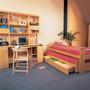 Dormitorio Juvenil Escritorio, Cama Y Mesita De Luz La Oca
