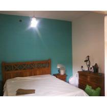 Dormitorio 1,60 X 2,00 Metros+colchon +mesa De Luz+ Comoda