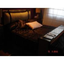 Cabezal Y Mesa De Apoyo Para Dormitorio