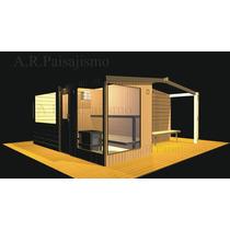 Spa Chico Hidromasaje Con Sauna Para 3 Personas Con Deck