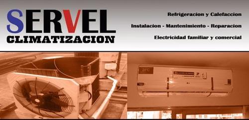 Cambio Compresor 2250/3000/4500/6000 Split Mercadopago