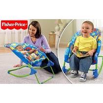 Fisher Price 2 Silla Interactiva Bebé De Lujo Con El Rockero