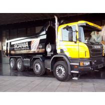 Scania P 360 8x4 Con Caja Volcadora Baco