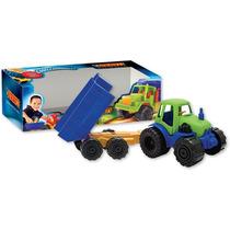 Tractor Con Acoplado Volcador