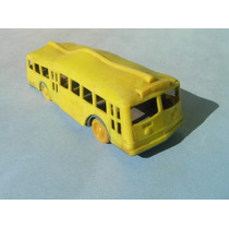 Colectivo Plastico Hollywood Bus Lines Simil Autobus Escolar