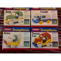 Camiones Con Trompo Trompilocos De Playskool, Alucinantes !
