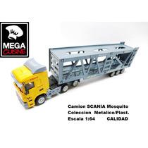 Camion Scania Mosquito Coleccion Esc1:64 Metal Calidad Unico