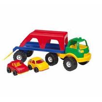 Camión Rondi Transporter Con Autitos Punto Bebe