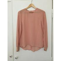 Camisa De Gasa Rosa Talle S. Sin Uso