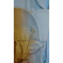 Camisa Rochas Hombre Manga Larga Como Nueva
