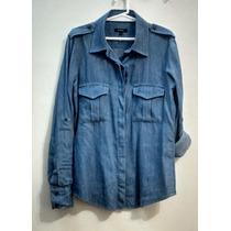 Camisa Jean/denim Mujer Bachino Talle S