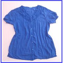 Camisa Camisola Mujer Cítrico Talle Especial Mythos 20 %off