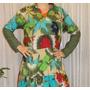 Vestidos De Voile De Algodón Estampado - Verte Bonita -
