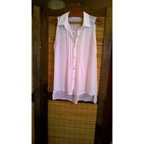 Blusa/camisola De Diseño Moda Actual.de Gasa.bellísima!