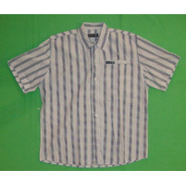 Camisa Over The Edge Talle S Microcentro Adolescente Hombre