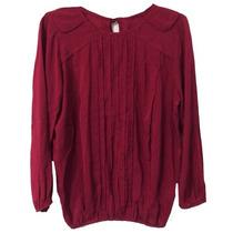 Clippate Camisola Voile Con Alforzas Camisa Mujer Invierno