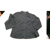 Camisa De Vestir Tela Con Puntitos