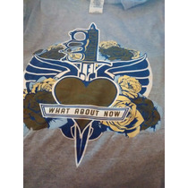 Remera Bon Jovi Gira Europea What About Now 2013 Talle L