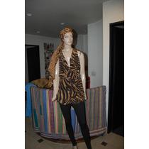 Maria Cher Blusa De Gasa Modelo Merengue Promo