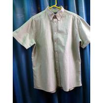 Camisa Manga Corta Narrow Talle L