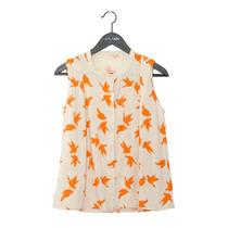 Camisa Dama Mujer Pájaros Urbana Verano Lola Lolita