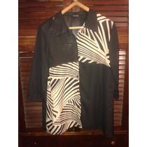 Camisa Chatelet Gasa Combinada