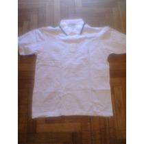 Chomba Color Blanco De Pique Yves Saint Lourent