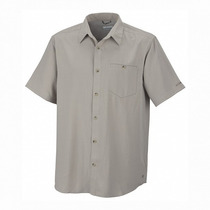Camisa Columbia Security Check Manga Corta