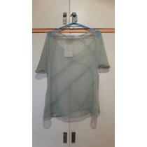Blusa Verde Transparente