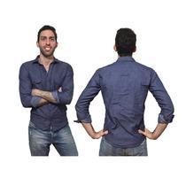 Camisa Hombre Entallada Slim Fit - Importada - Varios Modelo