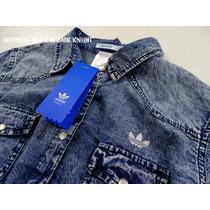 Camisa Jean Adidas Originals Mujer