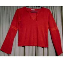 Hermosa Blusa Roja Mcbody Impecable!