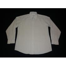 Camisa Yves Saint Laurent De Vestir Mangas Largas Talle 40