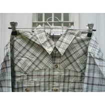 Camisa De Algodón Juvenil Varón Casa Ver M Pago*
