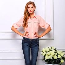 Camisa Blusa Mujer - Moda 2016 - Dif. Modelos Y Colores !