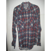 Camisa Casual Cuadrille Talle L Kouy