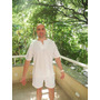 Ropa Blanca Para Yoga - Kundalini, Hatha; Túnica De Hombre