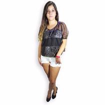 Remeron Blusa Holgada Tela Hologram Nueva Ot/ Invierno 2016