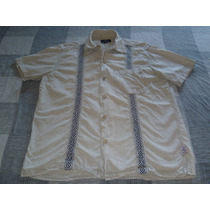 Camisa Soho Onda Safari Talle S Mangas Cortas