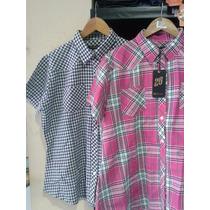 Camisas Cuadrille Mangas Cortas T L A Xxxl $400