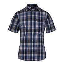 Camisa Wrangler Classic Regular Hombre Azul (05419618340501)