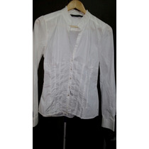 Camisa Blanca Zara Entallada M